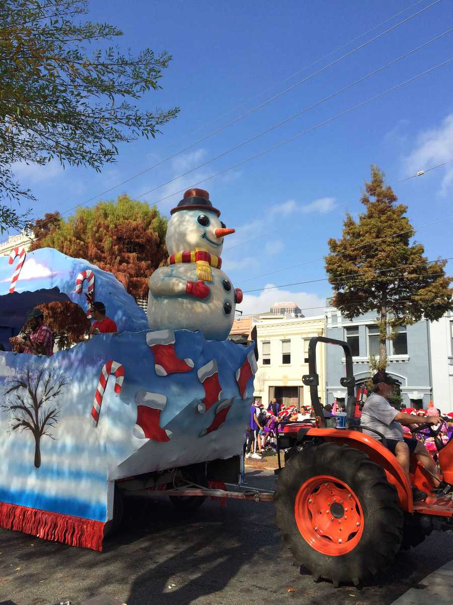 The Krewe of Jingle Parade kicked off at 1 p.m. near Lee Circle. Check out the photos here.