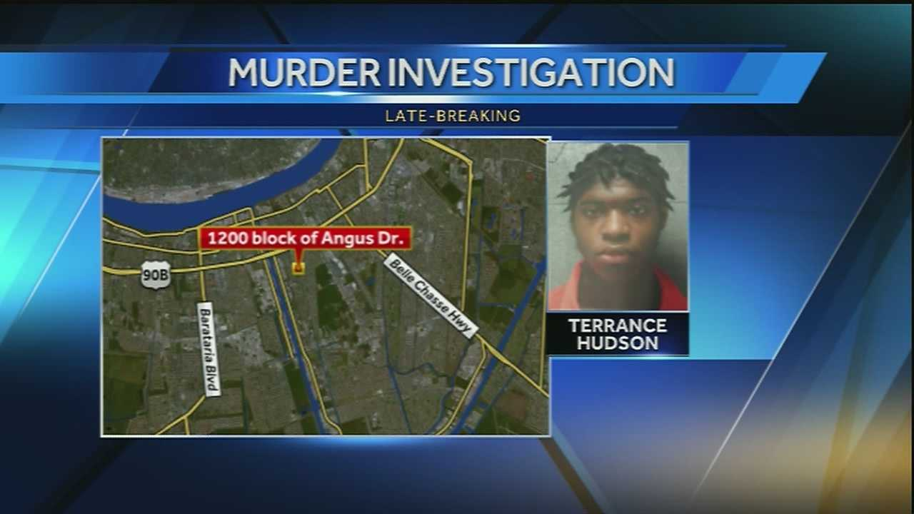 The Jefferson Parish Sheriff's Office said Terrance Hudson is wanted on second-degree murder charges for the death of 16-year-old Maurcell Mitchell.