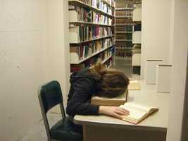 Sleep is really important. Forget the all-nighters. Nothing beats being refreshed and ready for your exam. You'll be able to focus a lot more.