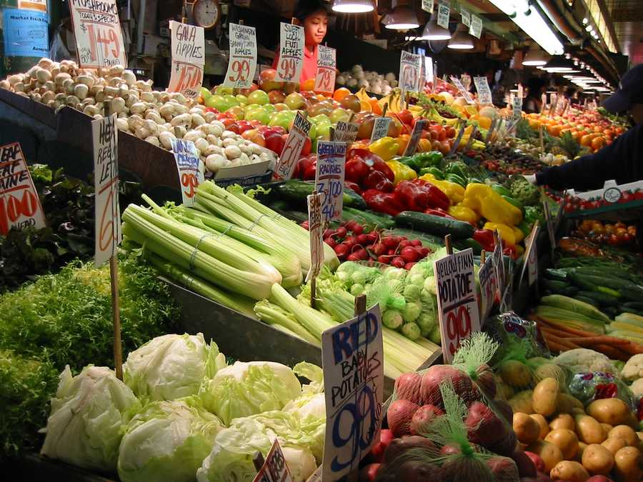 "Even ""organic"" produce gets sprayed. This is often done to fight bacterial diseases. Just remember to wash all produce."