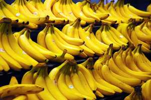 Fruit is ripened artificially by replacing oxygen with carbon dioxide to stop the process. When they arrive at the store, the CO2 is removed.