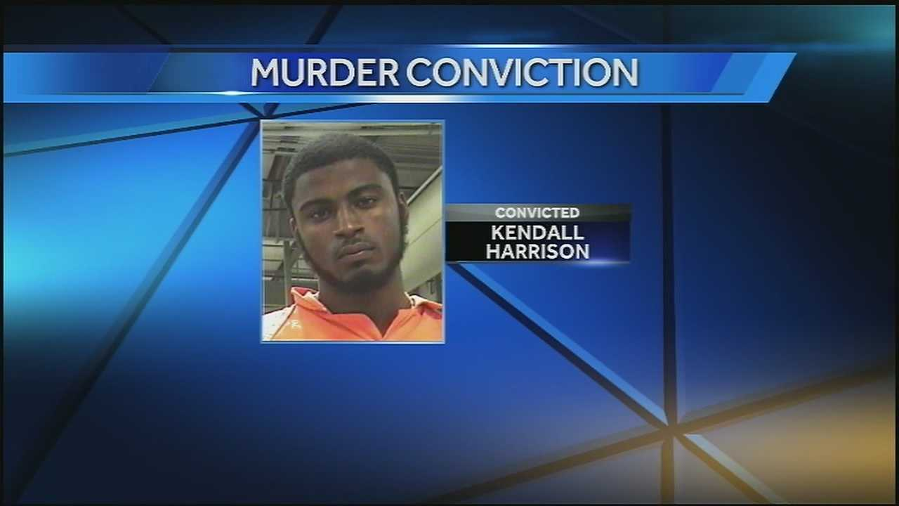 Kendall Harrison was convicted Tuesday in the 2012 killing of a man who tried to stop a car jacking in Algiers.