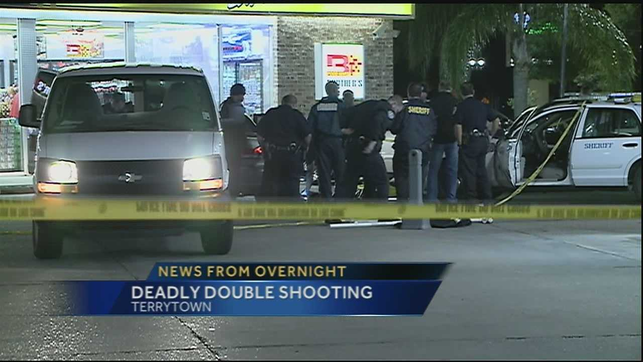 A man and a woman were shot multiple times in Terrytown.