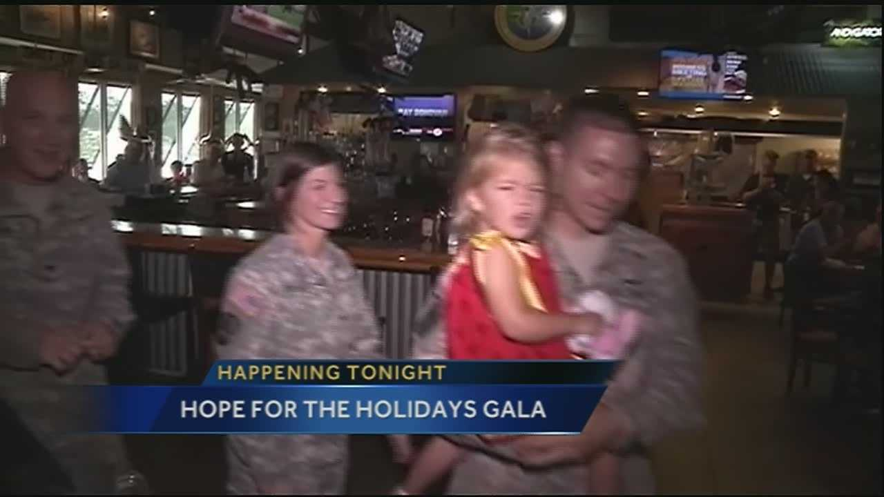 New Orleans Saints players will be teaming up with some of the biggest names in Hollywood on Friday night for the fourth annual Hope for the Holidays Gala.