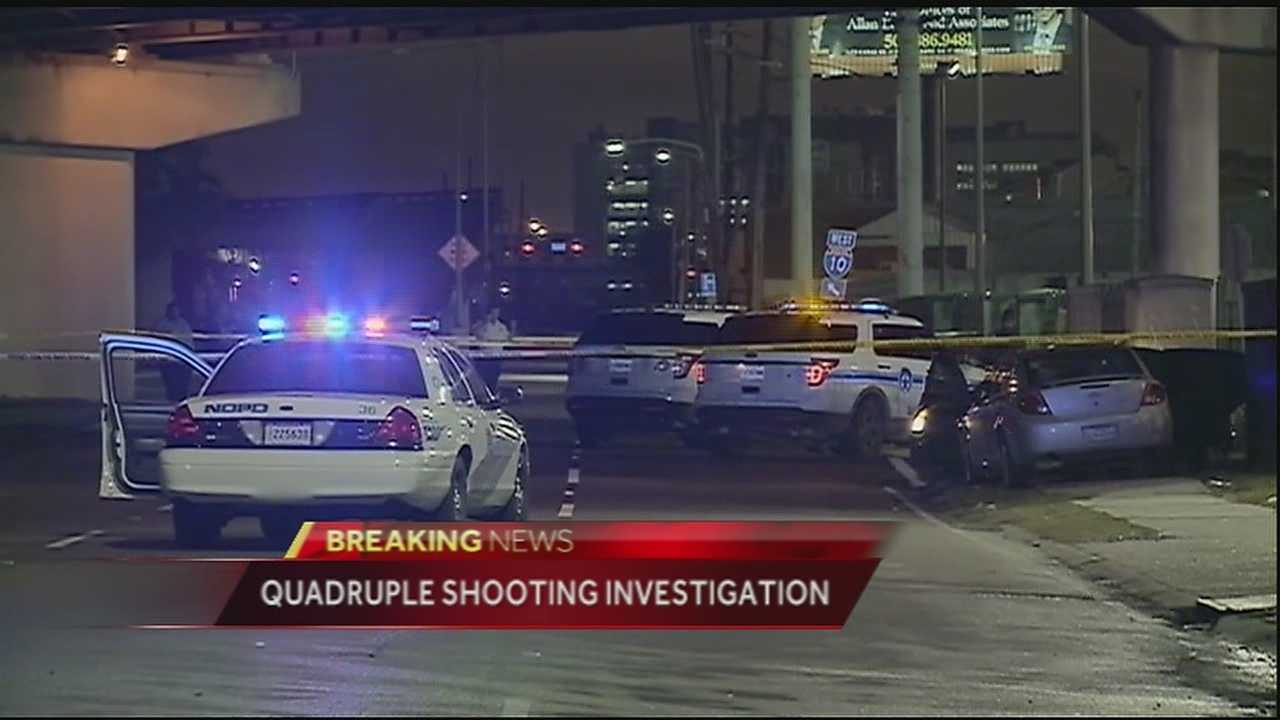 Four men are recovering after being shot near Endzone Nightclub near the Superdome that happened around 2:30 Monday morning.