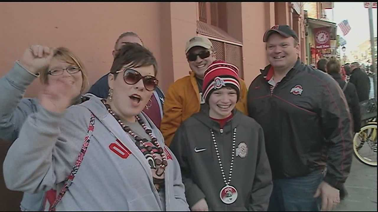 As Alabama gets ready to take on Ohio State for the 81st annual Allstate Sugar Bowl, fans have been enjoying a few events leading up to the big matchup.