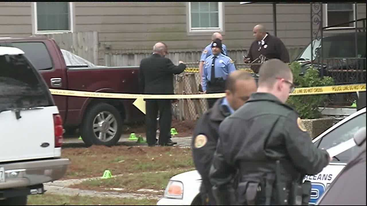 Two men are dead after a New Year's Day shooting in Gentilly.