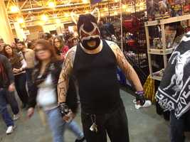 Bane from the DC universe.