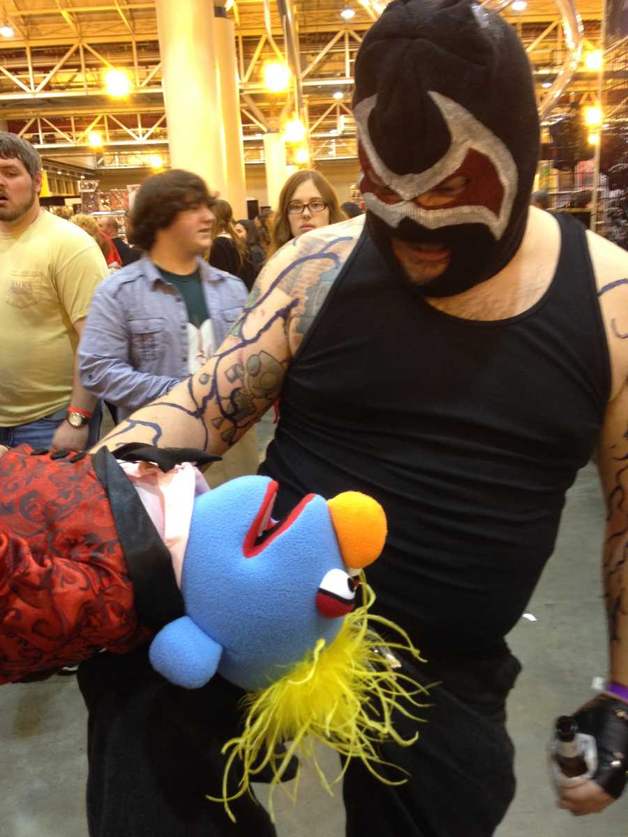 Bane will break not just Batman, but Muppets as well.