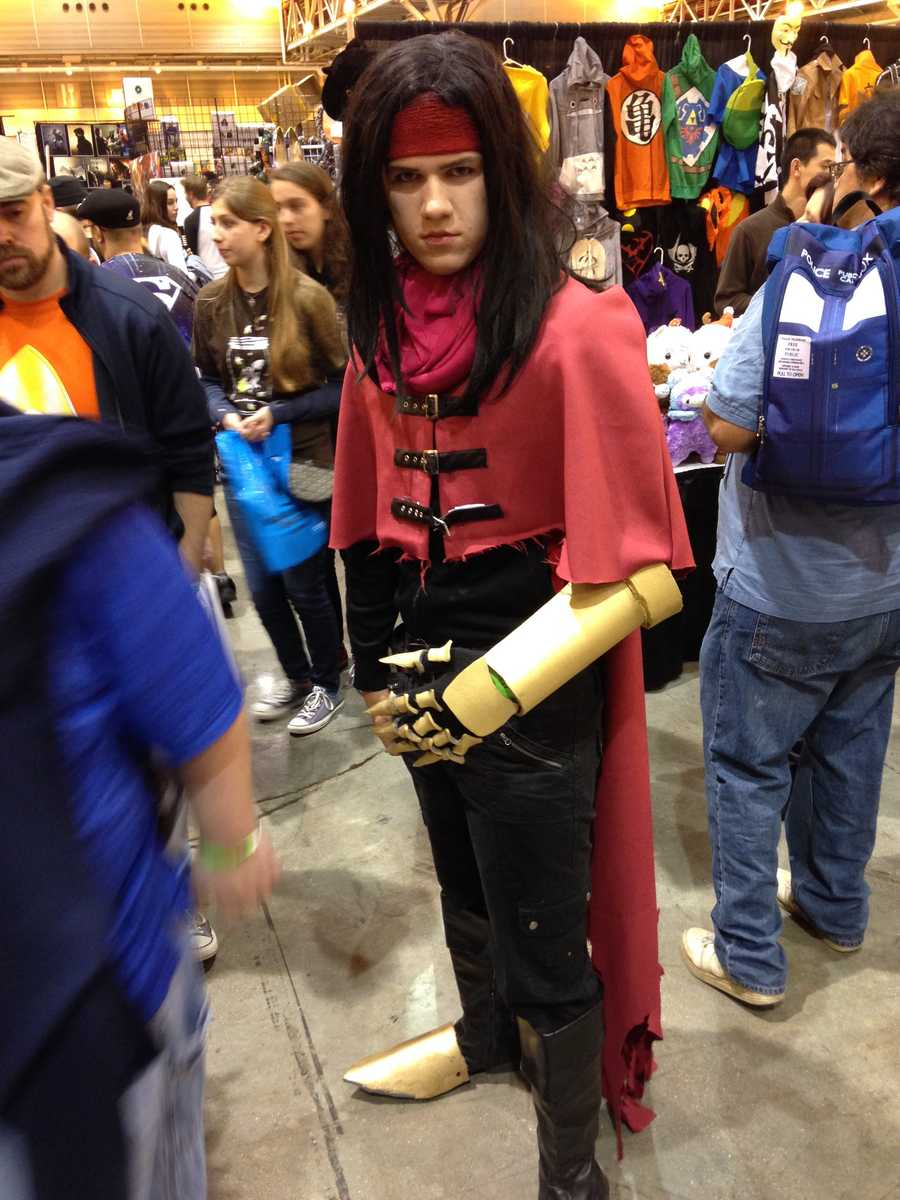 Vincent from Final Fantasy VII.