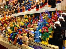 Lego-sized superheroes.