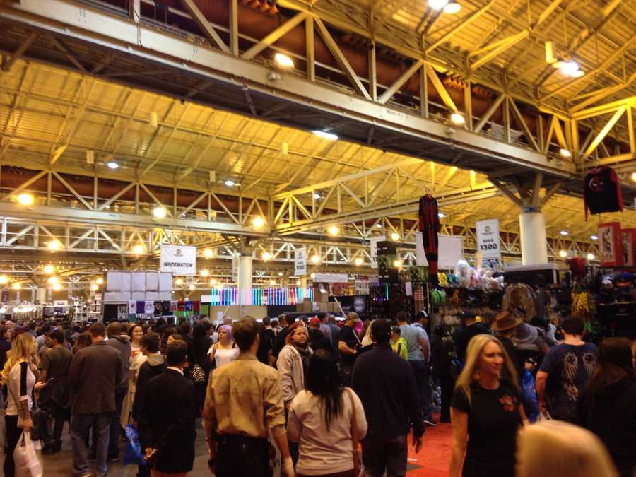 When you walk into the convention, you are met by thousands of fans, dozens of vendors and a plethora of celebrities.