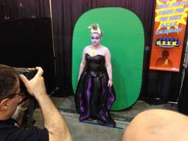 Ursula from Disney's The Little Mermaid.