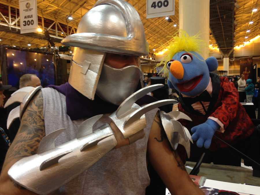 Shredder from Teenage Mutant Ninja Turtles.