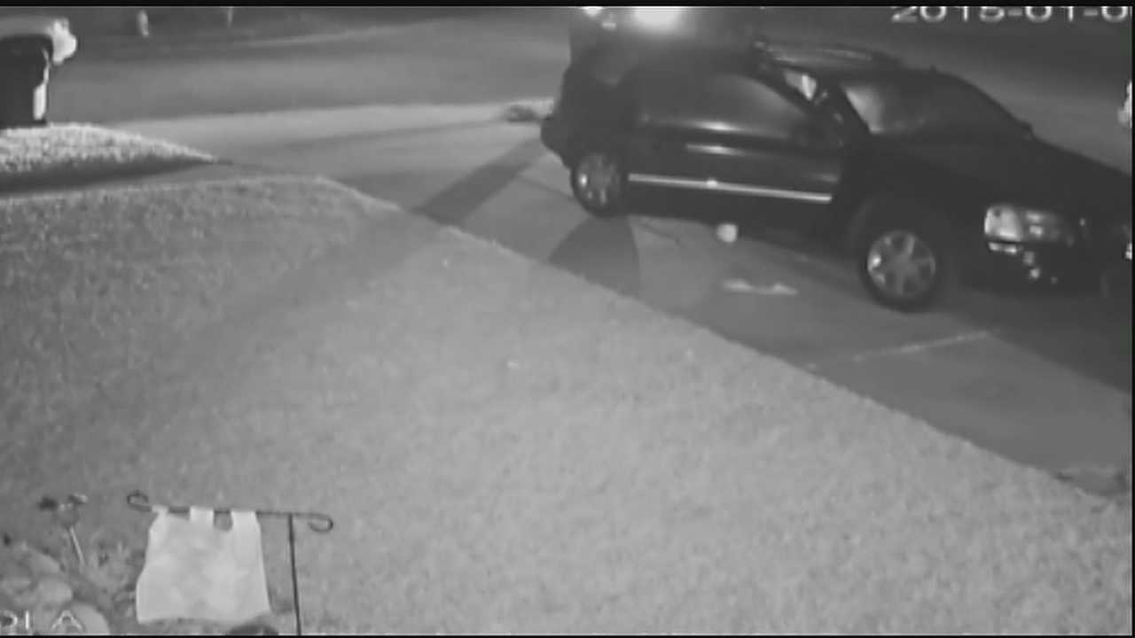 Police say the burglaries happened Jan. 6- after midnight.