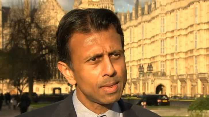 Louisiana Gov. Bobby Jindal delivered a policy address in London on Jan. 18