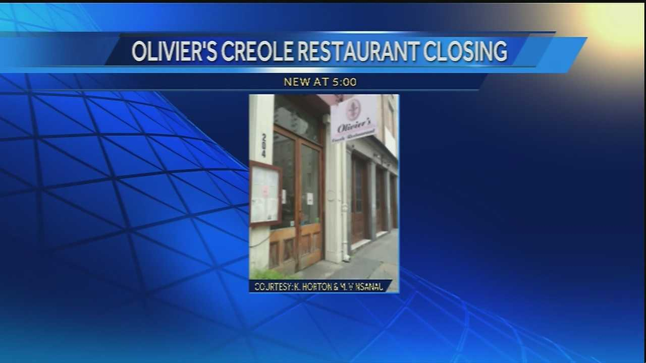 A popular New Orleans Creole restaurant closes its doors after more than 35 years.