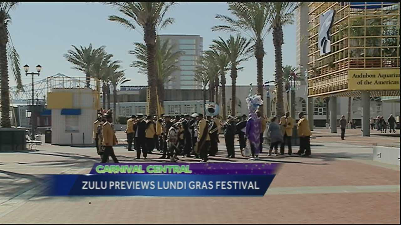 Organizers held an event this weekend to announce Lundi Gras activities.