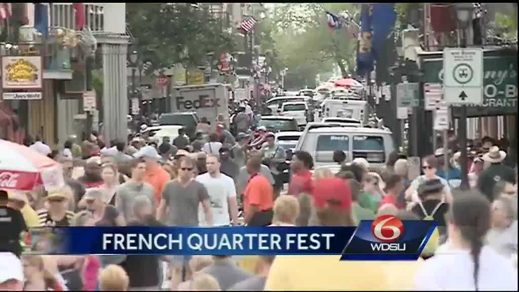 Generic French Quarter Festival image