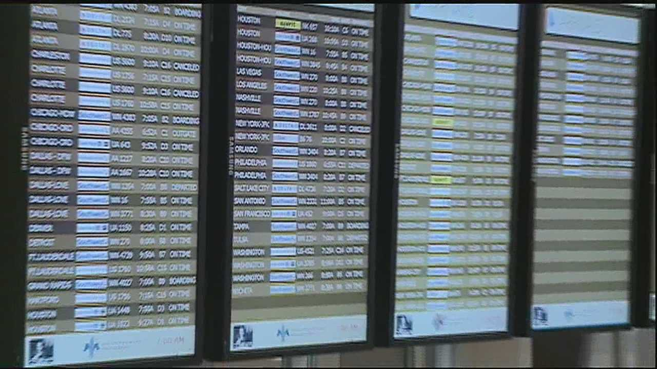 People in the Northeast are preparing for possibly one of the worst storms in their history, and the conditions are impacting travelers in New Orleans.