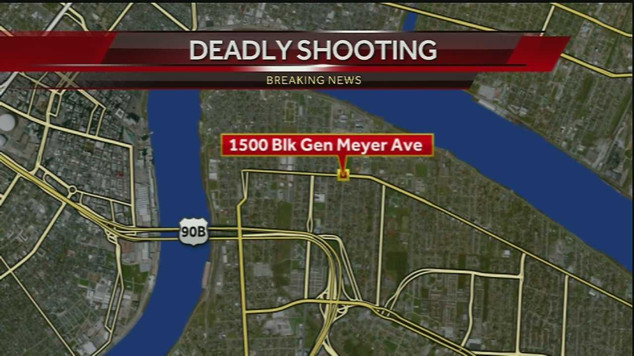 An unidentified female was found shot to death Thursday evening in New Orleans.
