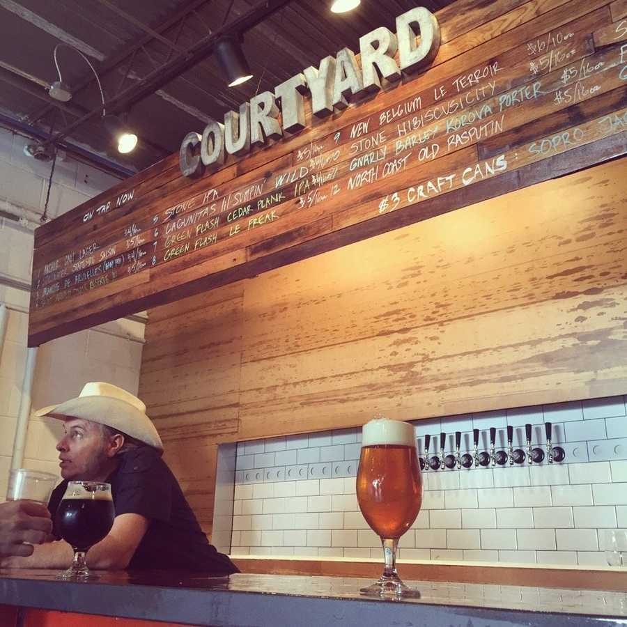 Courtyard Brewery - 5 stars1020 Erato StNew Orleans, LA 70130(Photo: Andrew R. New Orleans, LA)