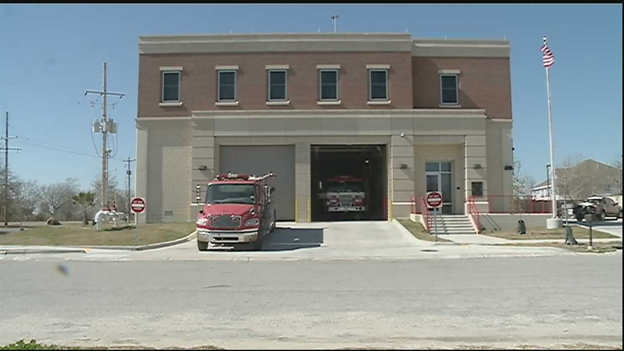 City Leaders are celebrating the opening of the new New Orleans Fire Department Engine 31 Fire Station in Venetian Isles.