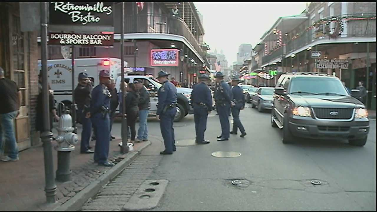 New Orleans police will have extra help from state police and other law enforcement agencies to help protect and control massive crowds in town for Mardi Gras.