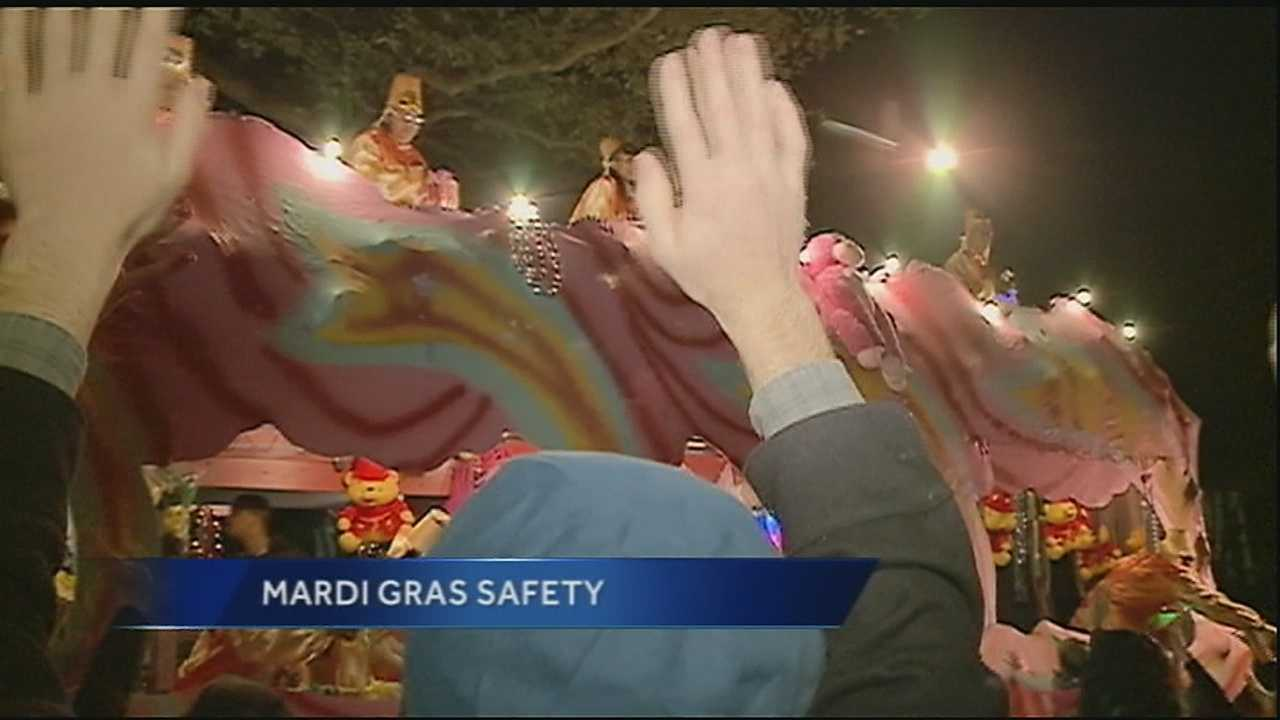 WDSU medical editor Dr. Corey Hebert talks about a few things to avoid this Carnival season to keep the fun rolling along the parade route.