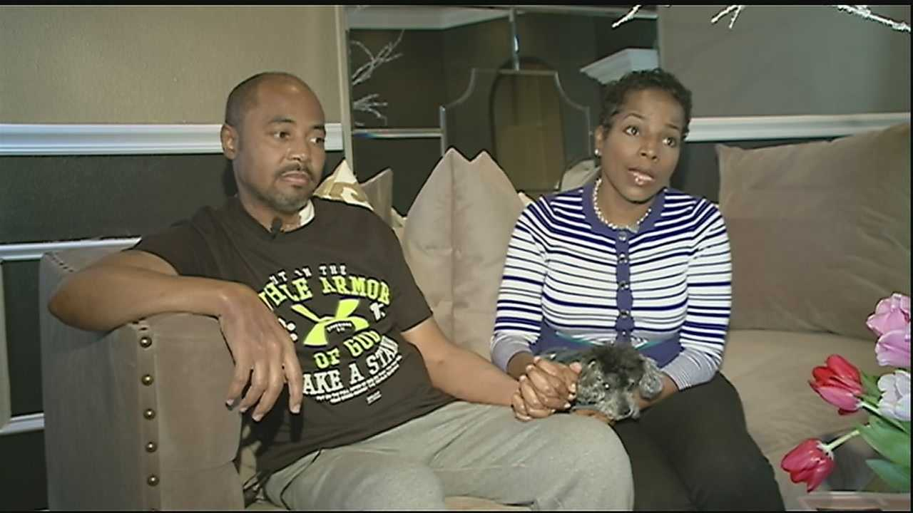 Veteran New Orleans police officer and his wife are grateful for a successful heart transplant.