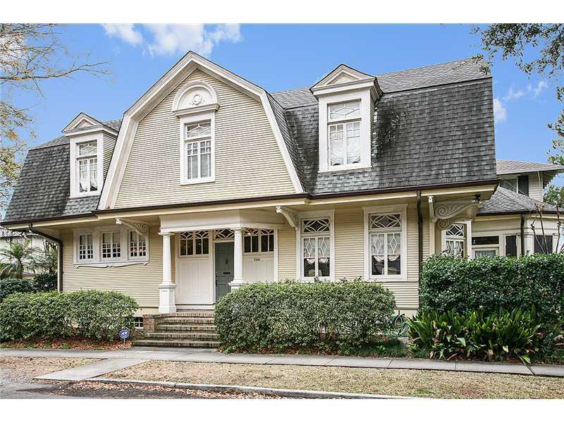 Beautiful Uptown home on Plum Street and on the market for $795,000. Contact Gardner Realtors for more information at 504-887-7878.