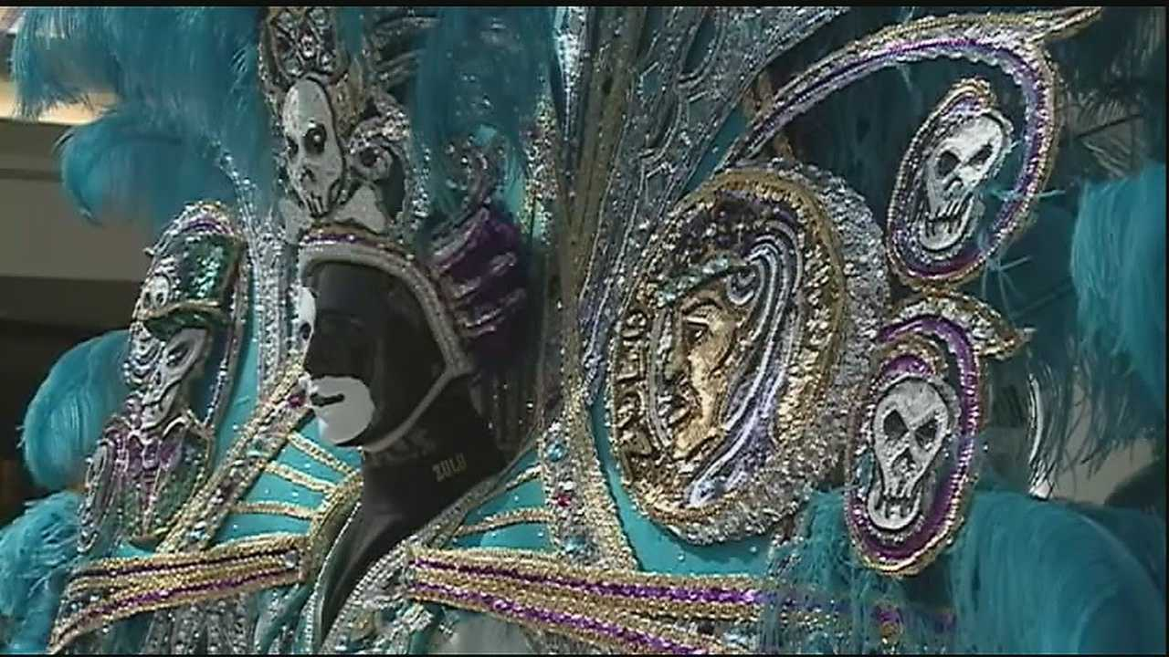 No Mardi Gras is complete without the costumes. And for members of Carnival royalty, for more than 40 years, they've turned to one man.