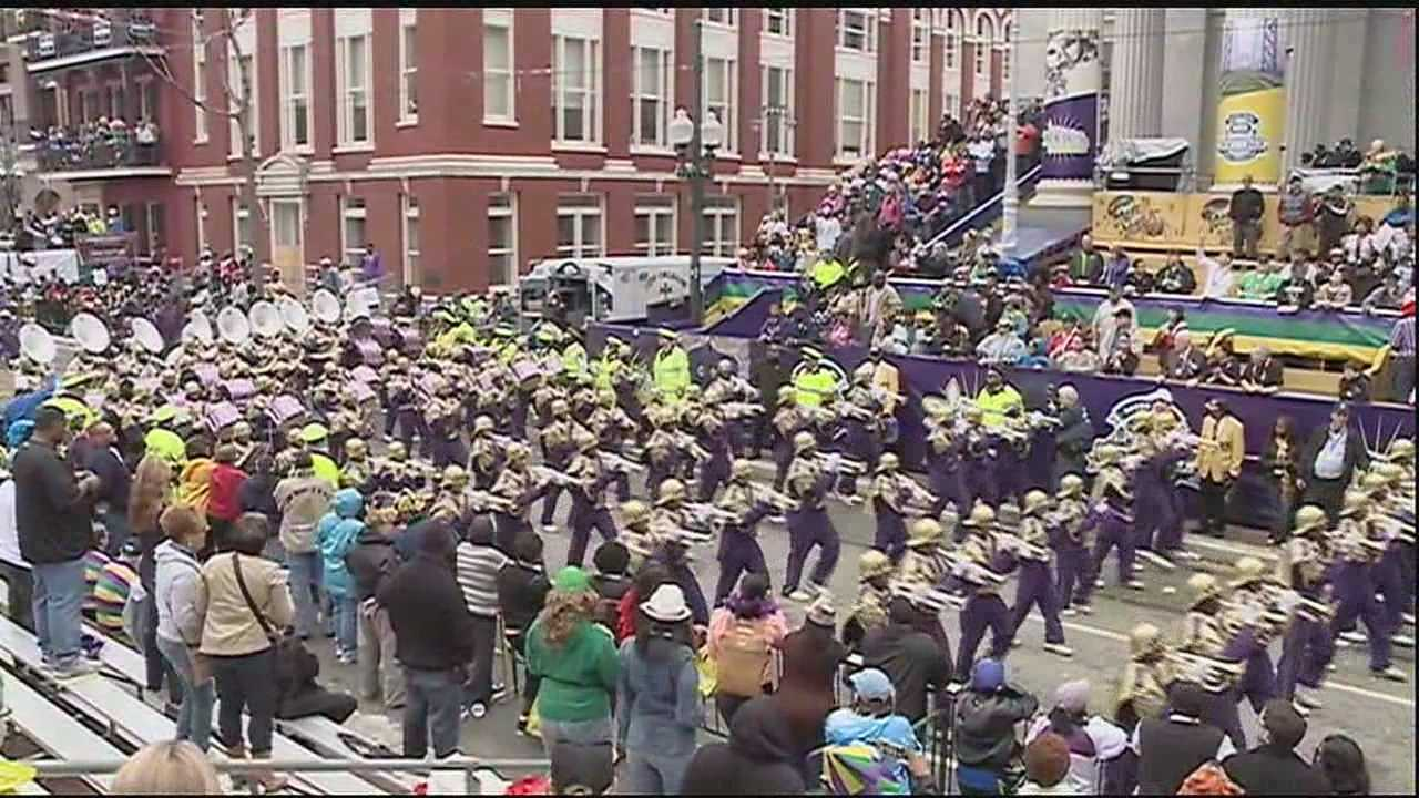 Bands bring out the crowds for Carnival, and find out what it takes to march with one of the most prestigious bands in the area.