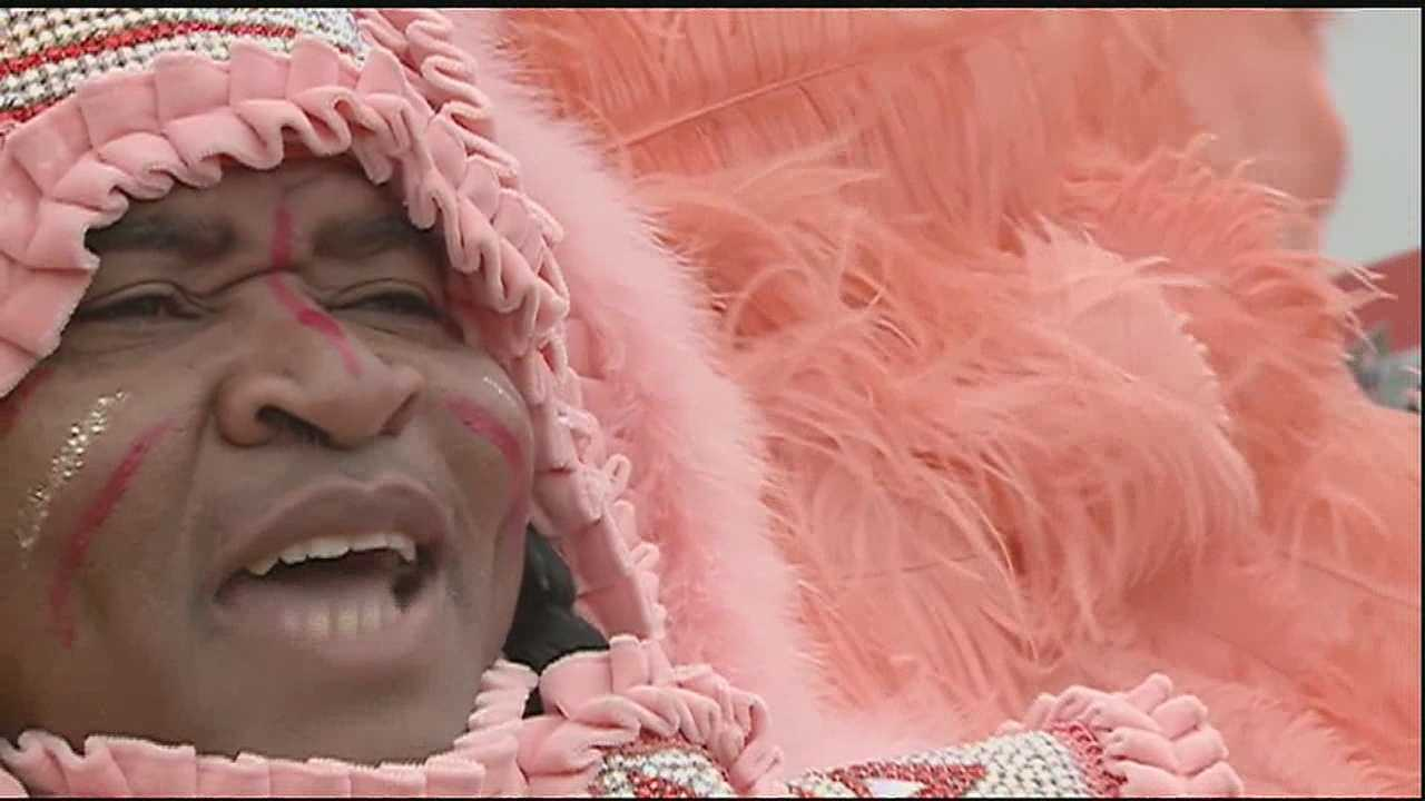 Mardi Gras is never complete without the annual return of the Mardi Gras Indians.