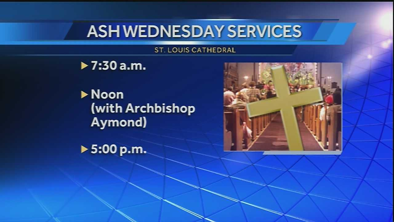Ash Wednesday marks the beginning of the Lenten Season.