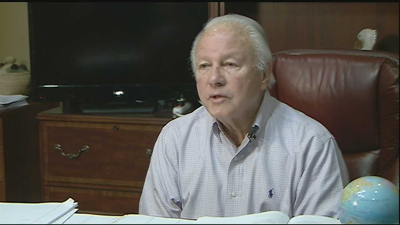 Former Gov. Edwin Edwards says he's done with politics and has taken his first steps down a different path as a real estate broker.