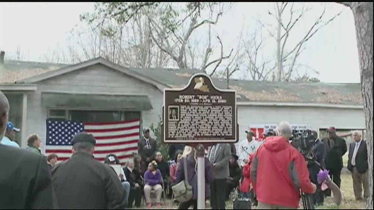 Small towns throughout Louisiana played major roles during the civil rights movement. While many residents may not remember the names and faces of those who prompted change, the town of Bogalusa is honoring one man who fought against segregation and discriminatory employment practices.
