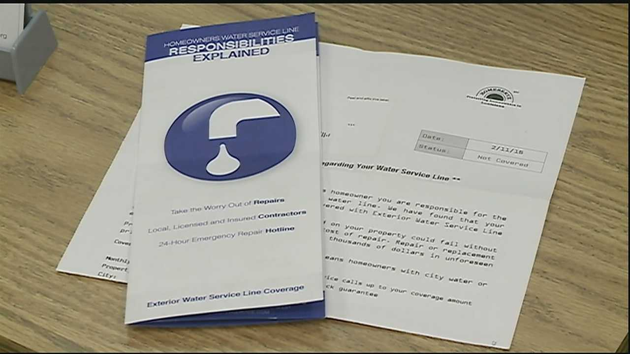 If you're a homeowner, chances are pretty good you received a letter from a company offering to provide coverage for your water pipes at a monthly or yearly premium.