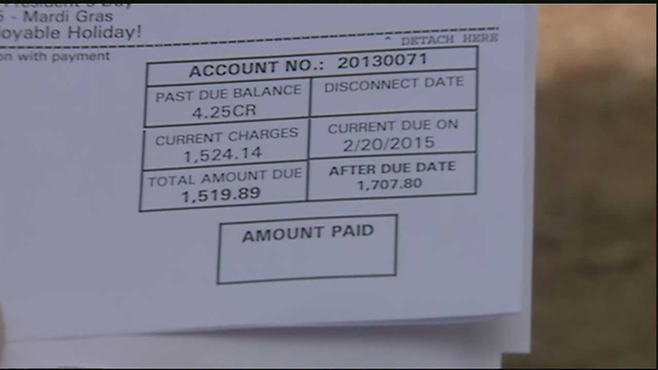 According to St. Tammany Water District #2, the Harvey household used 440,000 gallons of water in one billing cycle.
