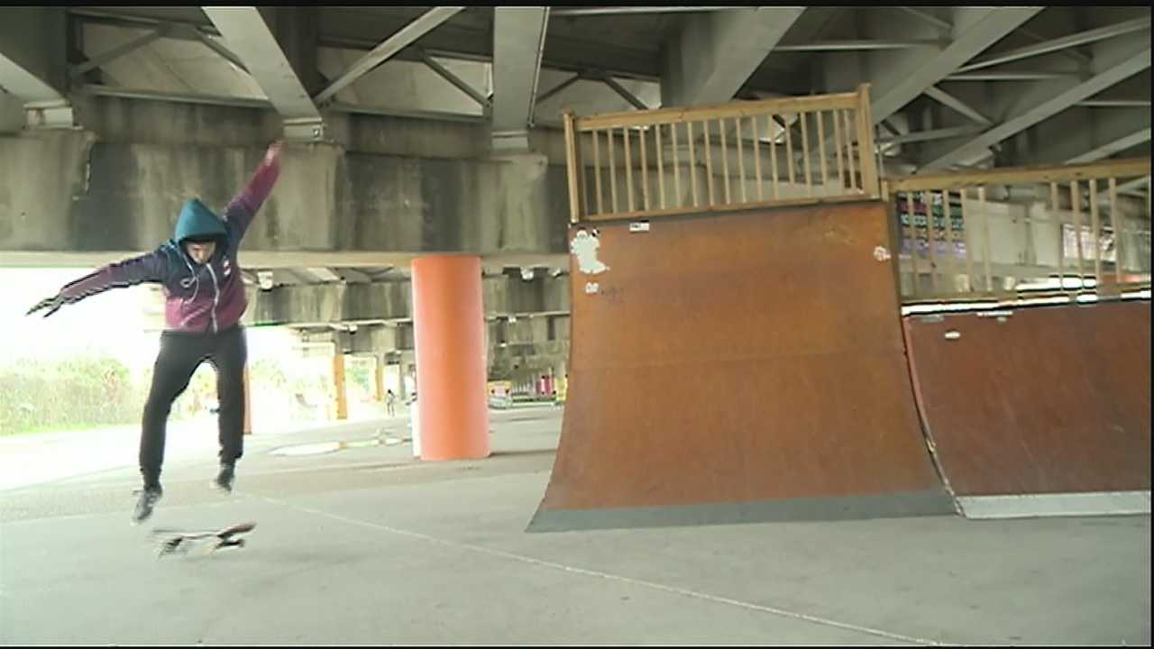 New Orleans leaders will officially open the city's first public skate park.