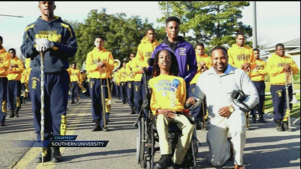 A young man suffering from Cerebral palsy will get to live out one of his biggest dreams. On Friday, Warren Easton will host the Make a Wish presentation to the young man whose twin brother is a member of the school's band.