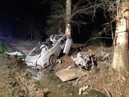 According to a preliminary investigation, Lloyd Giddens was driving north in a 2007 Infiniti M37 on Louisiana Highway 25 -- about one mile north of US 190 -- when, for unknown reasons, veered to the left, traveled off the road, over-corrected to the right and lost control.