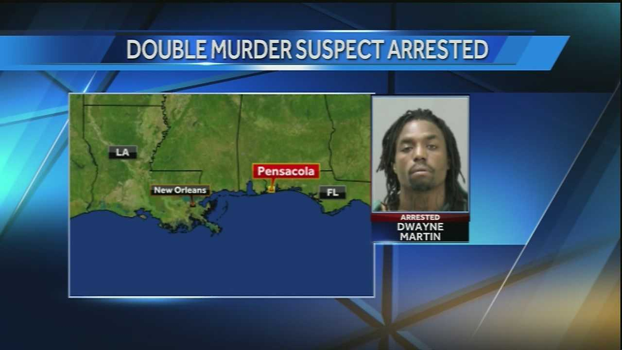 The man accused of gunning down a mother and her 8-year-old daughter in New Orleans East is in custody and will soon be extradited back to New Orleans.