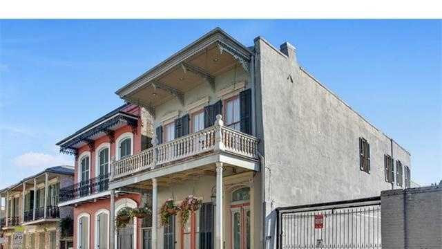 This week's Mansion Monday takes us to the French Quarter where a two-story home is on the market for $1,825,000. Contact Gardner Realtors for more information at 504-887-7878.