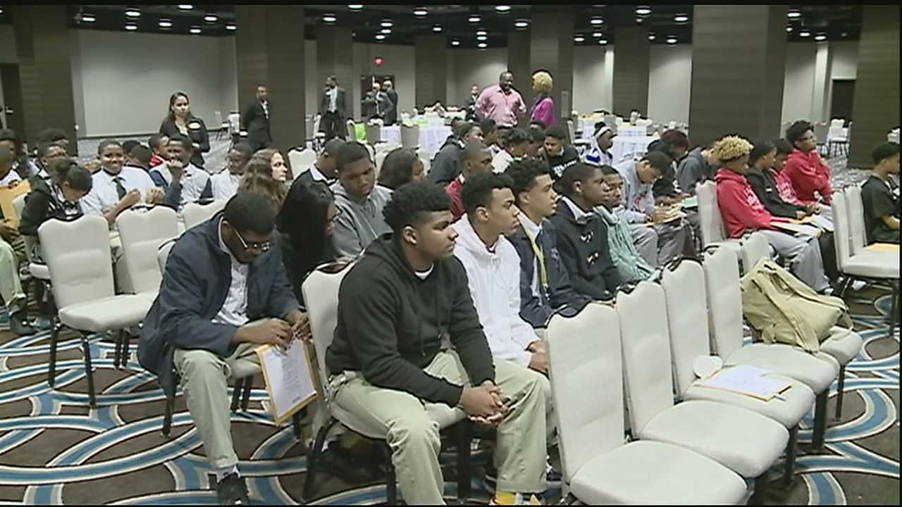 Organizers said the purpose of bringing together young people from several high schools across New Orleans is simple. Its main focus is to help combat cross-town violence and crime associated with ward disputes.
