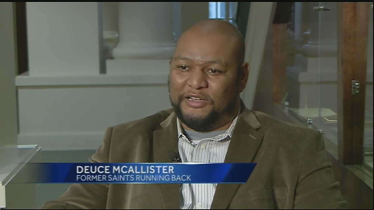 Deuce McAllister, Mike McKenzier and Jim Miller speak out