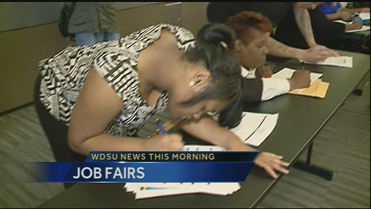 If you are looking for a job, there are two career fairs happening in the Crescent City on Thursday.