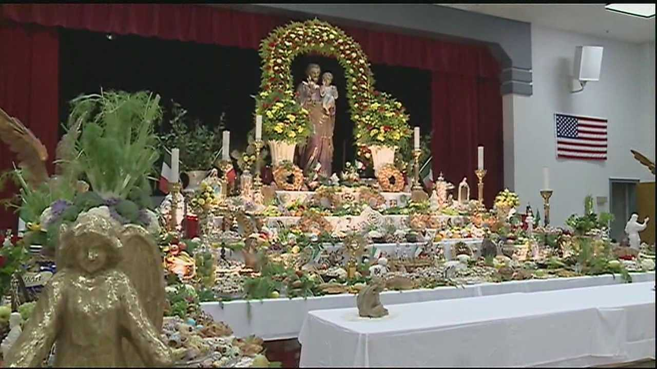 St. Joseph's Day is a tradition born out of a drought-stricken time in Sicily.