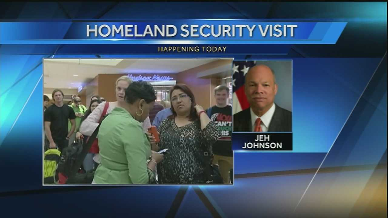 City officials are preparing for a visit from Homeland Security Secretary Jeh Johnson. His visit comes just one week after a bizarre attack on three Transportation Security Administration (TSA) officers at Armstrong International Airport.