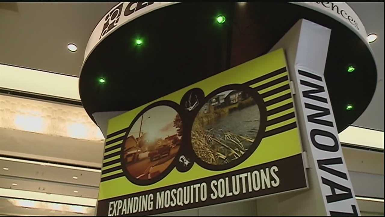 Warmer, muggy weather in southeast Louisiana often signals the return of dreaded mosquitoes.